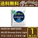 MARTIN MSP3000 80/20 Bronze Extra Light アコースティックギター弦