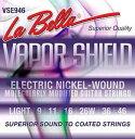 La Bella VSE946 09-46 VAPOR SHIELD エレキギター弦
