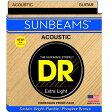 DR SUNBEAM DR-RCA11 Medium-Lite アコースティックギター弦×3セット