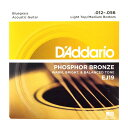 D'Addario EJ19 Bluegrass Light Top Medium Bottom アコースティックギター弦×3セッ