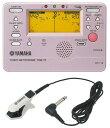 YAMAHA TDM-75PP メトロノーム機能付きチューナー YAMAHA TM-20WHBK チューナー専用マイクロフォン付きセット