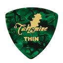 TAKAMINE P1G THIN セルロイド トライアングルギターピック×10枚