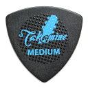 TAKAMINE P3B MEDIUM ポリアセタール トライアングルピック×10枚