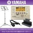 YAMAHA TDM-75R レコーダー、メトロノーム機能付きチューナー Dicon Audio MUS-009 譜面台付き 4点セット
