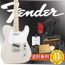 フェンダーから始める!大人の入門セット Fender Japan Exclusive Classic 70s Tele Ash USB/M エレキギター VOXアンプ付 10点セット