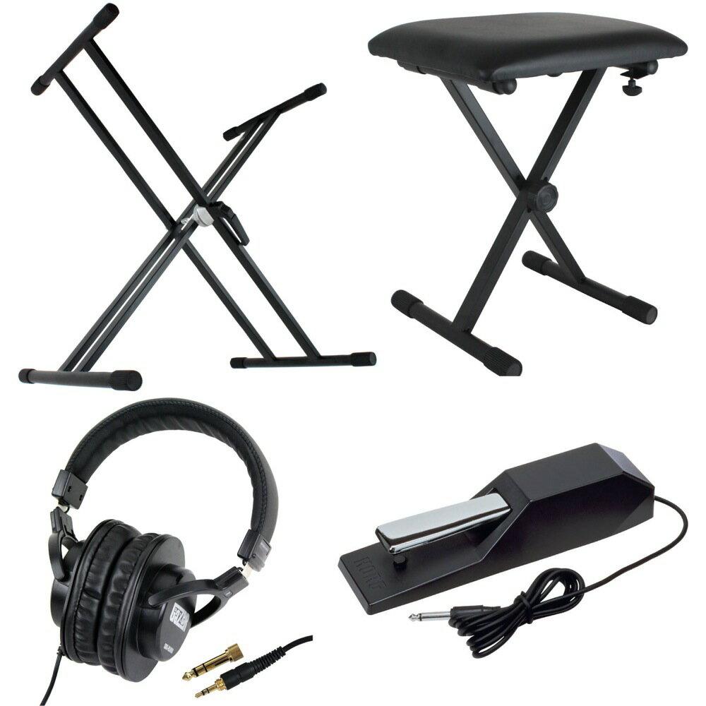 DiconAudioX型キーボードスタンドピアノ椅子ヘッドフォンKORGダンパーペダル電子ピアノアク