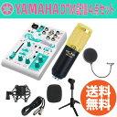 YAMAHA AG03-MIKU ウェブキャスティングミキサー FZONE BM-800 Black コンデンサーマイク Dicon 卓上マイクスタンド SD GAZER ポップガード DTM 配信 4点セット