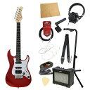 バッカス ミニサイズエレクトリックギター 初心者セットミニエレキギター入門11点セット BACCHUS GS-Mini CAR