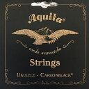 AQUILA AQC-CLW 149U Carbonblack Series コンサートウクレレ弦 LOW-G 4弦巻線×12セット
