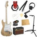フェンダー エレキギター初心者セット ストラトタイプフェンダーから始める!大人の入門セット Fender Made in Japan Traditional '70s Stratocaster MN NAT ASH エレキギター VOXアンプ付 11点セット