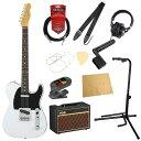 フェンダー エレキギター初心者セット テレキャスタータイプフェンダーから始める!大人の入門セット Fender Made in Japan Traditional 60s Telecaster Custom AWT エレキギター VOXアンプ付 11点セット