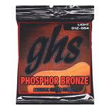 【】GHS S325/012-54×12SET アコースティックギター弦 ガスブーマー フォスファーブロンズ アコギ弦 12セット