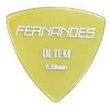 FERNANDES P-100UT 0.8mm ULTEM PICK トライアングル ギターピック×10枚