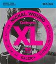 【お得な10セット!】D'Addario EXL120+ エレキギター弦×10セット