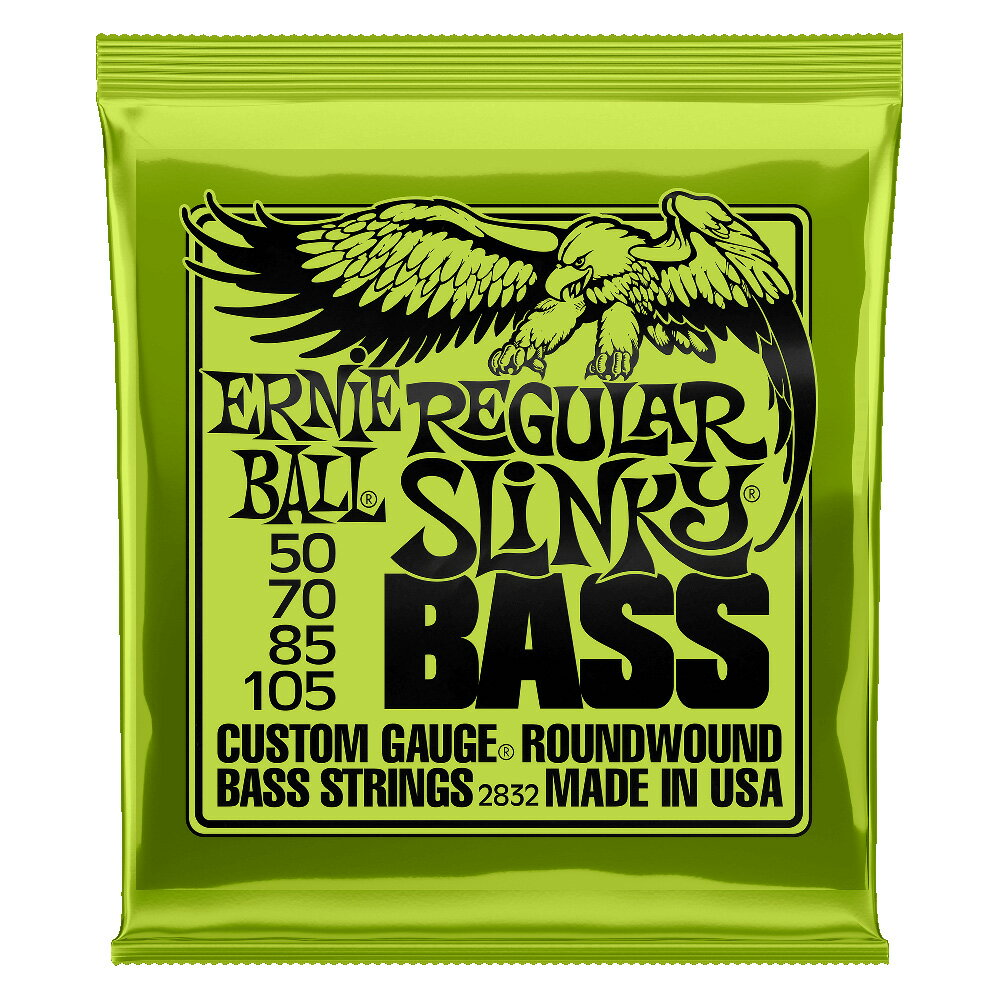 ERNIE BALL 2832/REGULAR SLINKY BASS×2SET ベース弦...:chuya-online:10003596