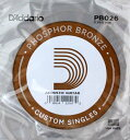 D'Addario PB026/Phosphor Bronze×5本 アコースティックギター バラ弦