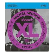 D'Addario EXL120 エレキギター弦×5セット