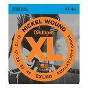 D'Addario EXL110 エレキギター弦×10セット