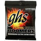 GHS GB7M3SET 7弦吉他用中等号码量规弦7弦组套010,013,017,DY26,DY36,DY46,DY603套[GHS GB7M Boomers 7弦用 エレキギター弦×3セット]