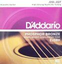 D'Addario EJ38H Phosphor Bronze High Strung/Nashville Tuning アコースティックギ
