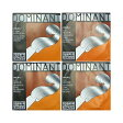 Thomastik Dominant 4/4バイオリン弦セット E線スチール・アルミ/ループエンド