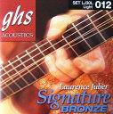 GHS LJ30L Signature Phosphor Bronze アコースティックギター弦×3セット