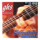 GHS LJ30L Signature Phosphor Bronze アコースティックギター弦×6セット