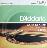 D'Addario EZ920 Medium Light 5SET アコースティックギター弦