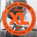 D#039;Addario EXL140-3D 电吉他弦3套包2套Dada里约热内卢电吉他弦 实惠的3套包的2个一套 fs3gm[D'Addario EXL140-3D エレキギター弦 3セットパック2セット ダダリオ エレキギター弦 お得な3セットパックの