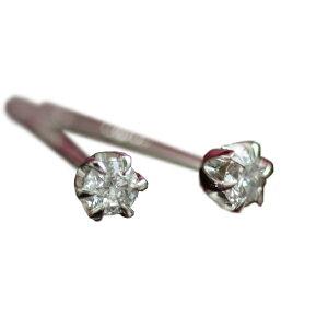 ダイヤモンド0.1ct ティファニー・セッティング(立爪