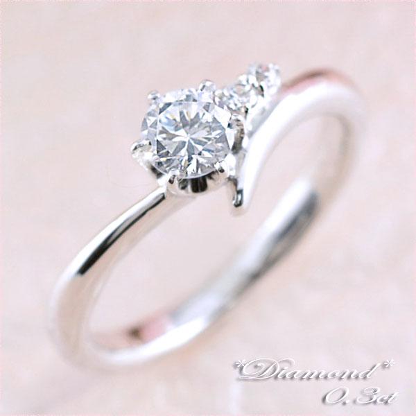 [送料無料]結婚指輪 婚約指輪 ダイヤモンドリング レディース ブライダル  リング 一粒ダイヤ  0.3ct プラチナ リング 指輪 エンゲージリング pt900【_包装】0824カード分割 シンプルで永く愛せる一粒ダイヤリング