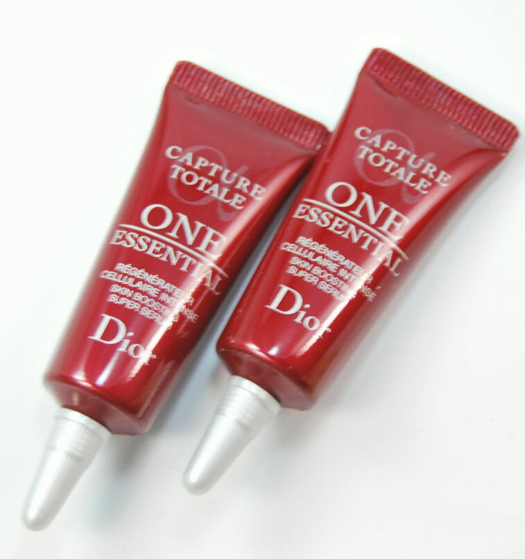 Christian Dior カプチュールトータルワン essential 10 ml 2 piece set simple mini size