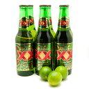 ドスエキスビールラガー6本+メキシカンライム(キーライム)3個セット