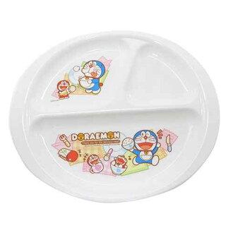 供喜愛哆啦A夢小孩餐具午餐銘牌間隔盤子OSK的小孩使用的粉絲海雜貨