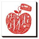 Art Panel インテリア パネル Art Panel Mini Doodle Red Apple 美工社 IAP-52112 キャンバスアートインテリア通販 取寄品 シネマコレクション