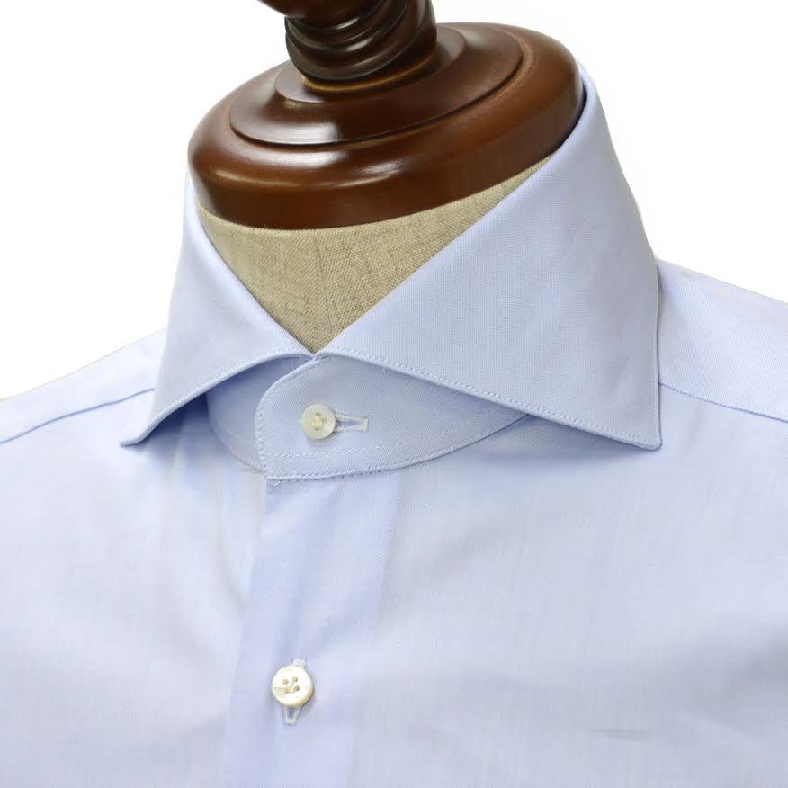 BARBA【バルバ】ドレスシャツ BRUNO I1U262490902U cotton BLUE(コットン ロイヤルオックス ブルー)