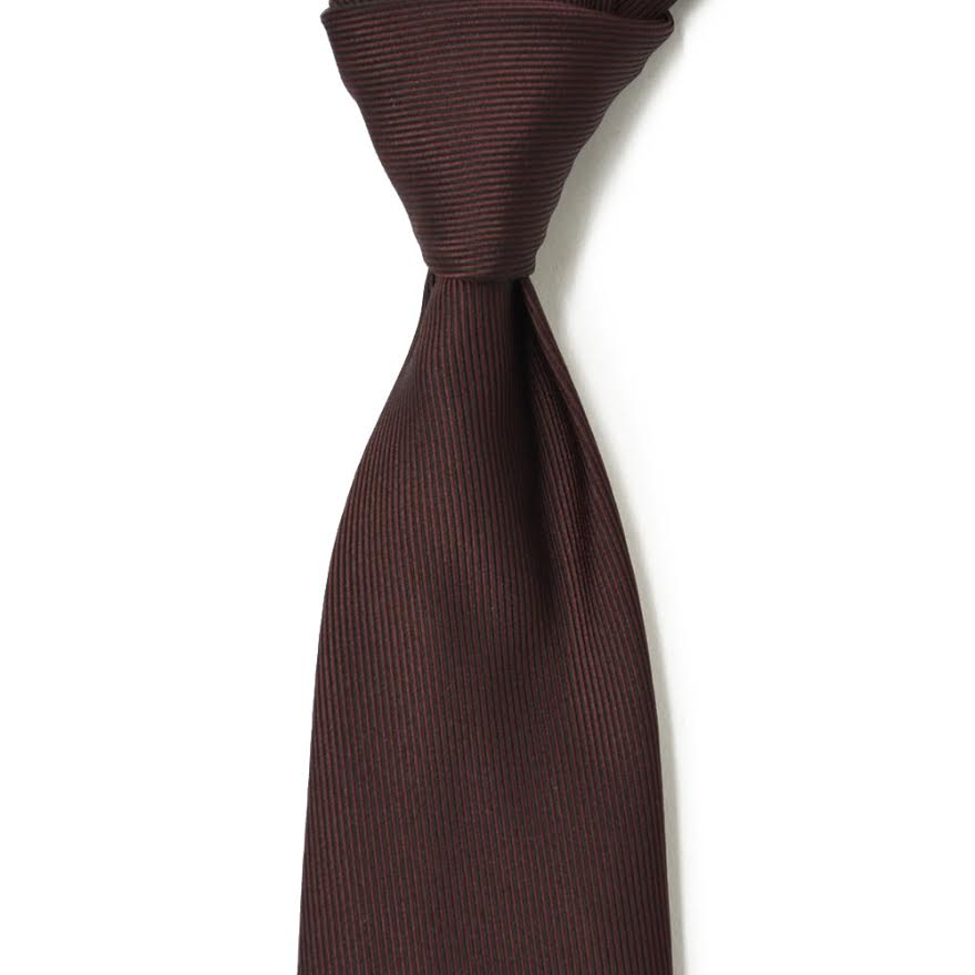 TIEYOURTIE【タイユアタイ】Settepieghe PT0015 silk RED(セッテピエゲ シルク ソリッド レッド)