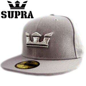 NewEra×SUPRACapSilverlogoGlass2Grey�˥塼����×�����ץ饭��åץ���С��?���饹�ġ����쥤