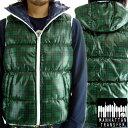 MANHATTAN TRANSFER Down Vest 2M5-5166 Madras Check Green マンハッタントランスファー ダウン ベスト マドラス チェック グリーン 【あす楽対応_近畿】【あす楽対応_中国】【あす楽対応_四国】【あす楽対応_九州】