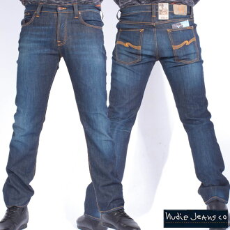 Nudie jeans アベレージジョー オーガニックストライキーエコウォッシュ Nudie Jeans Average Joe Organic Strikey Eco Wash
