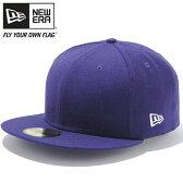 ニューエラ 5950キャップ プレーン ベーシック パープル New Era 59Fifty Cap Plain Basic Purple【あす楽対応_近畿】【あす楽対応_中国】【あす楽対応_四国】【あす楽対応_九州】