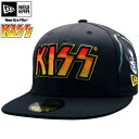 Kiss X new era All-over style kiss face black multi-KISS X New Era Cap ALL OVER KISS FACE Black Multi [_ Kinki tomorrow for comfort] [_ China tomorrow for comfort] [_ four tomorrow for comfort] [_ Kyushu tomorrow for comfort]