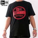 ニューエラ S/S Tシャツ インスピ ベーシック バイザー ティー ブラック/スカーレットNew Era SS TEE INSP Basic Visor Tee Black/Scarlet