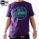 ニューエラ S/S Tシャツ インスピ ベーシック バイザー ティー パープル/アクアNew Era SS TEE INSP Basic Visor Tee Light Purple/Aqua