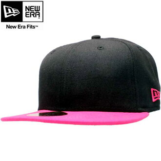 New era Cap ツートーンボディ basic series black / Strawberry New Era Cap 2TONE BODY Basic Series Black/Bright Strawberry ブライトストロベリー
