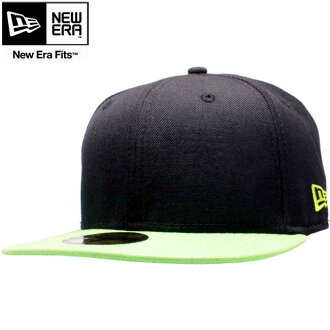 New era Cap ツートーンボディ basic series black / lime / Erin green New Era Cap 2TONE BODY Basic Series Black/Lime/Erin Green