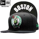 ニューエラ キャップ アンダーバイザー NBA ボストン セルティックス ブラック/ホワイトNew Era Cap Under Visor NBA Boston Celtics Black/White