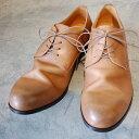 PADRONE パドローネ メンズ DERBY PLAIN TOE SHOES / JACK ジャック BEIGE ベージュ PU7358-2001-11C ダービープレーントゥ 革靴