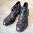 PADRONE パドローネ メンズ  CHUKKA BOOTS with SIDE ZIP / BAGGIO チャッカブーツ バッジオ BLACK ブラック PU7358-1205-13D 革靴