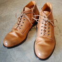 PADRONE パドローネ メンズ  CHUKKA BOOTS with SIDE ZIP / BAGGIO チャッカブーツ バッジオ BEIGEベージュ PU7358-1205-13D 革靴